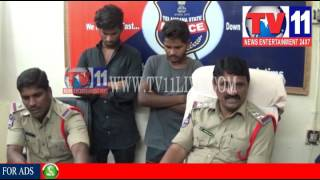 CINE STYLE OFFENDERS ARREST BY KHANAPUR POLICE NIRMAL TV11 NEWS 7TH AUG 2017