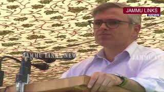 Current grave situation a gift of the PDP-BJP Govt: Omar Abdullah