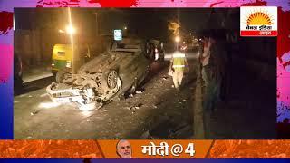 देश की राजधानी दिल्ली में नशे ओर रफ्तार का कहर #Channel India Live