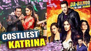 Salman Khan Gives More MONEY To Katrina Kaif Then Jacqueline And Sonakshi For Dabangg Tour