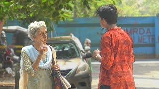 Kid Asking Strangers for Help Due to Bad Board Exam Results - Social Experiment | TamashaBera