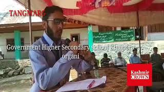 Government Higher Secondary school Khaipora organised a Inter School Naat competition