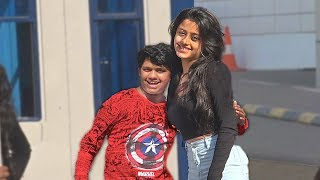 Kid Kissing Prank India - Asking Strangers for Kiss/Hug to Raise Money - Part 2 | TamashaBera