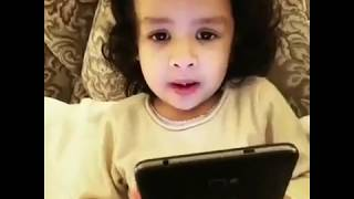 Dhoni's Cute Daughter Ziva Dhoni Singing Malayalam Song