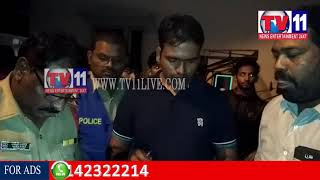 PERSON KILLED BY UNKNOWN PEOPLE AT GOLCONDA TV11 NEWS 23RD AUG 2017