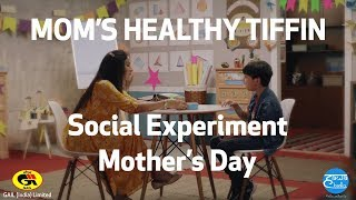 MOM'S HEALTHY TIFFIN | Social Experiment | Mother's Day