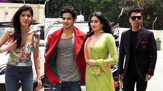DHADAK TEAM GRAND ENTRY   Trailer Launch   Janhvi Kapoor, Ishaan Khattar, Karan Johar