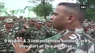 Indo-Nepal joint military exercise 'Surya Kiran' begins in Pithoragarh