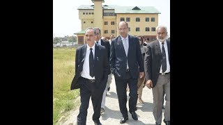 judgeJustice Magrey takes stock of ongoing works at District Court Complex Srinagar