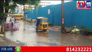 HEAVY RAIN FALL AT HYDERABAD  TV11 6TH SEP 2017