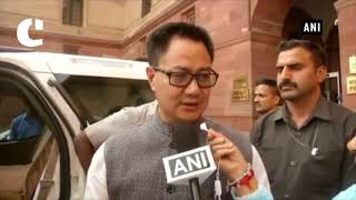 UK Minister assured full cooperation in extradition of Nirav Modi, Vijay Mallya: Kiren Rijiju
