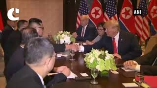 Kim Jong Un holds summit with Donald Trump after one-on-one meeting