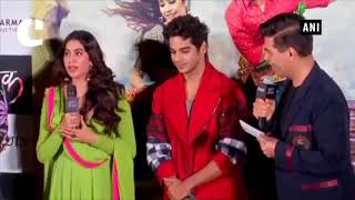Janhvi Kapoor misses mom Sridevi at 'Dhadak' trailer launch