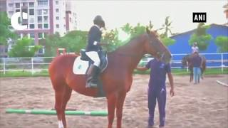 Horse riding gains popularity among children in Coimbatore