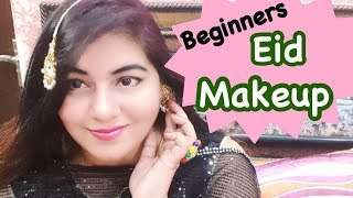Eid Makeup ! Step by Step Beginners Makeup Tutorial | JSuper Kaur