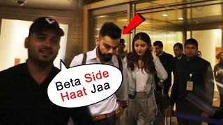 Anushka Sharma And Virat Kohli SPOTTED At Airport