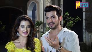 Arjun Bijlani & Aalisha Panwar Exclusive Chit Chat - Ishq Mein Marjawan 200 Episode Grand Party
