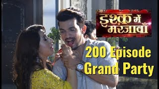 UNCUT: Ishq Mein Marjawan Serial 200 Episode Grand Party | Arjun Bijlani | Alisha Panwar