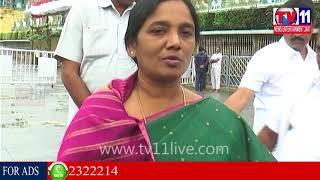 తిరుమల శ్రీవారిని దర్శించుకున్న  మంత్రి పరిటాల సునీత మరియు కుటుంబ సబ్యులు | TV11NEWS | 06-11-17
