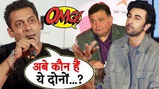 Salman Khan IGNORES Rishi Kapoor And Ranbir Kapoor; Here's Why