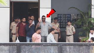 Ajay Devgan Spotted At Airport Returning From Jaipur After Visiting Ajmer Sharif Dargah