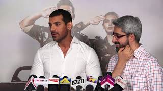 Success Party of Film Parmanu With John and Director ||  John Abraham, Diana Penty