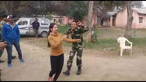 Fauji Bhai Ka Jabardast Dance On Chikani Chameli