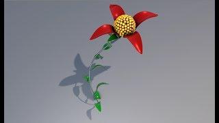 3D MoSpline Animation Making using Cinema 4D Tutorial