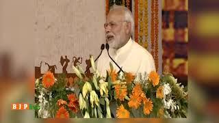 अटल जी के विजन को रमन सिंह जी पूरे परिश्रम के साथ आगे बढ़ा रहे हैं : पीएम मोदी #PMInCGVikasYatra