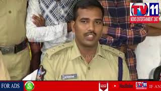 POLICE ARRESTED ROBBERY SNATCHERS GANG IN GUNTUR || Tv11 News | 14-06-18