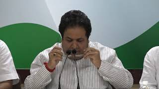 Nirav Modi Scam: AICC Press Briefing by Rajeev Shukla at Congress HQ
