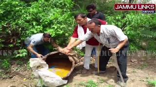 Over 1,300 kgs Lahan, 25 litres of illicit liquor destroyed, 2 held