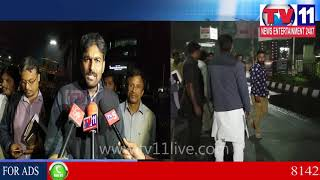 DEPUTY MAYOR BABA FASIUDDIN SURPRISE VISIT TO CHECK ROADS & QUALITY OF MATERIAL|Tv11 News|26-11-2017