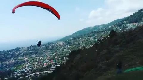 Paragliding Dharamshala, Harsh Patel