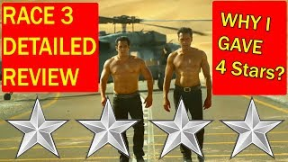 RACE 3 Detailed Review I Why I Gave 4 Stars To Salman Khan Film?