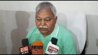 पत्रकार वार्ता में बोले ईओ राजेश सक्सेना - मैं किसी भी जांच को तैयार