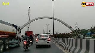 Delhi elivated road   Madhuban chowk to Burari