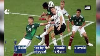 FIFA WC 2018: Mexico defeats reigning champions Germany