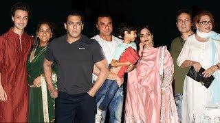 Salman Khan's Family At Arpita Khan Sharma's Grand EID PARTY 2018