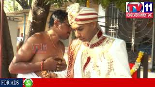 SOUTH AFRICA COUPLES MARRIED IN INDIAN TRADITION AT PUTTAPARTHI | Tv11 News | 28-12-2017