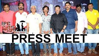 IPC Section Bharya Bandhu Movie Press Meet   Saraschandra, Neha Deshpande