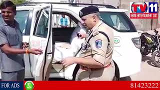 HATS OFF TO CYBERABAD CP SANDEEP SHANDILYA | Tv11 News | 19-01-2018