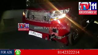 ROAD ACCIDENT AT SECUNDERABAD | Tv11 News | 23-01-2018