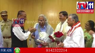 GOVERNOR ESL NARASIMHAN VISITS AU AT VISHAKAPATNAM   Tv11 News