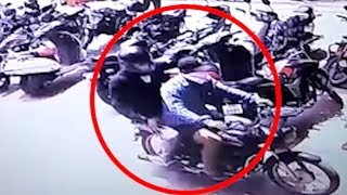 Two unknown persons opened firing on a shopkeeper in Surat