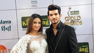 Ishq Mein Marjawan Team Arjun & Alisha At 11th Gold Award 2018 - Full Interview