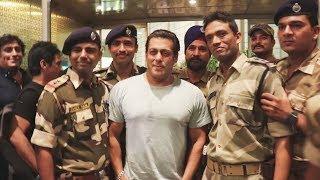 Salman Khan Sweet Gesture Towards Jawans At Airport Will Melt Your Heart