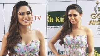 Krystle D'Souza At GOLD Awards 2018 Red Carpet