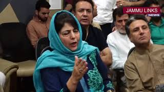 Mehbooba Mufti resigns as J&K Chief Minister
