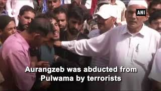 Nirmala Sitharaman meets slain Rifleman Aurangzeb's family